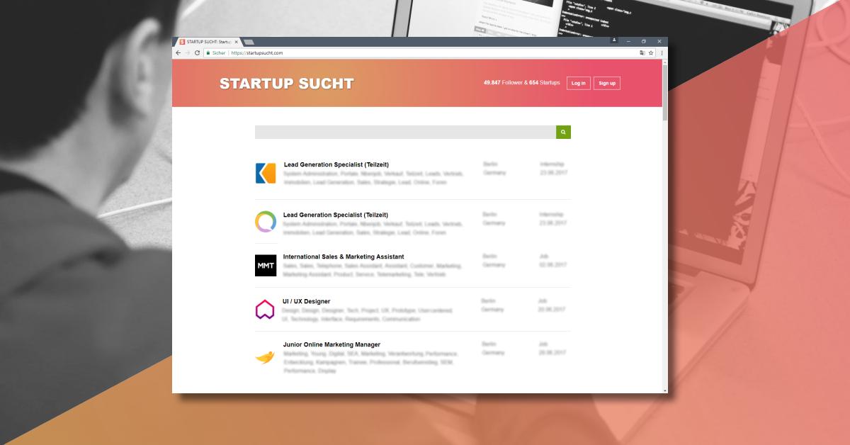 online marketing junior m nchen startup internships. Black Bedroom Furniture Sets. Home Design Ideas